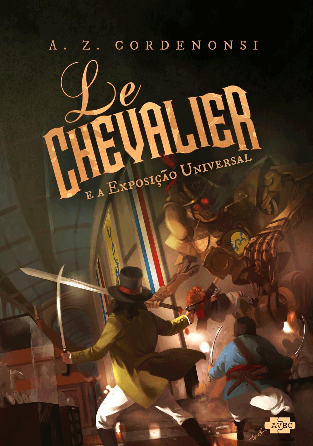 capa do livro Le Chevalier