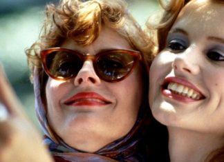 Thelma e Louise tirando uma selfie