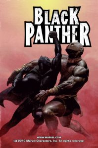 capa da HQ do Pantera Negra