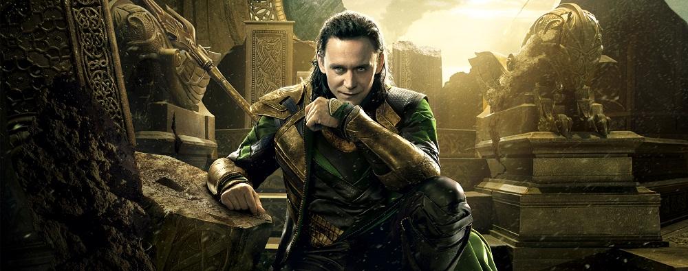 Loki no poster de Thor - O Mundo Sombrio