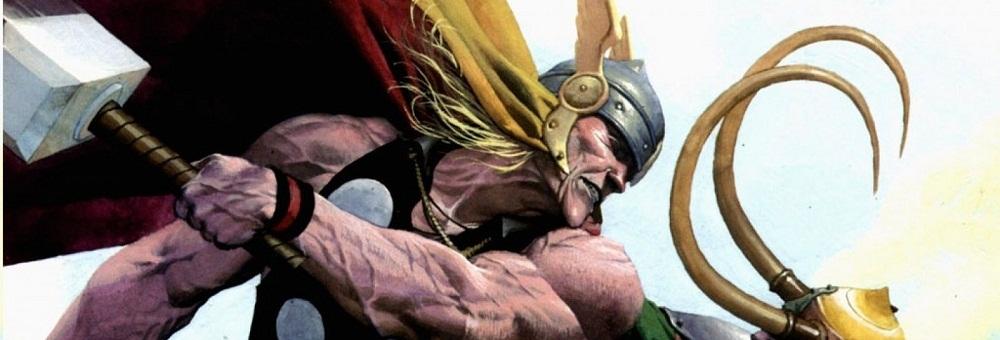 Ilustração doDeus Thor pela Marvel Comics