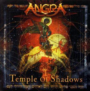 capa do album temple of shadows
