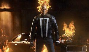 motorista fantasma de agents of shield, da marvel