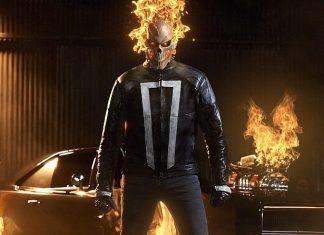 capa do post com o motorista fantasma de agents of shield
