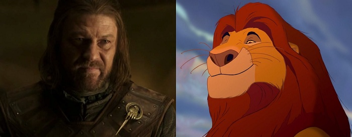 sean bean e mufasa
