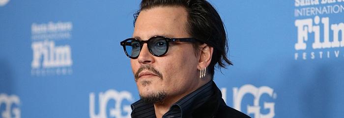 SANTA BARBARA, CA - FEBRUARY 04: Johnny Depp arrives at the Maltin Modern Master event during The 31st Santa Barbara International Film Festival held at Arlington Theatre on February 4, 2016 in Santa Barbara, California. (Photo by Michael Tran/FilmMagic)