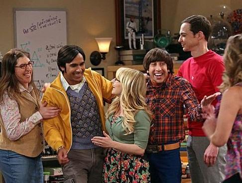 os personagens de The Big Bang Theory