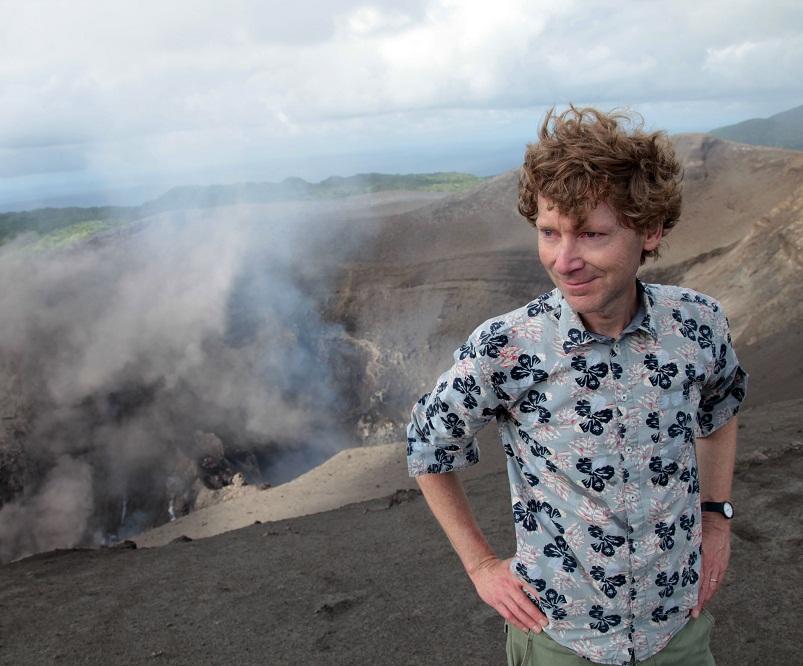 clive oppenheimer, vulcanologista