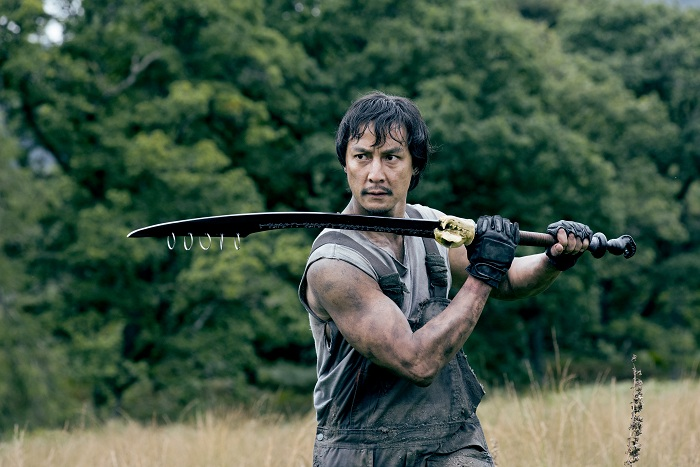 Daniel Wu as Sunny- Into the Badlands _ Season 2, Episode 3 - Photo Credit: Antony Platt/AMC