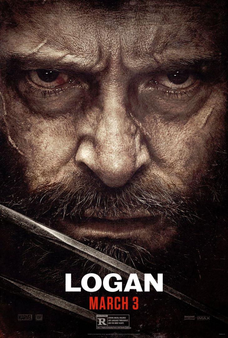 Hugh jackman em poster de Logan