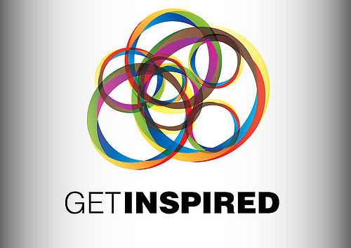 logotipo do evento get inspired