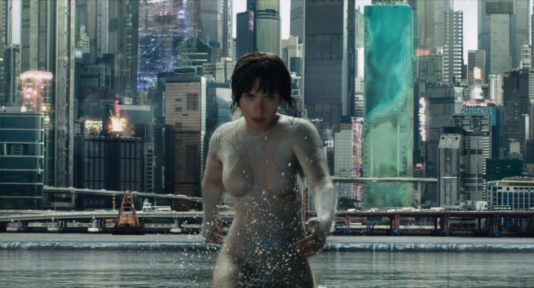a vigilante do amanhã ghost in the shell cosmonerd scarlett johansson