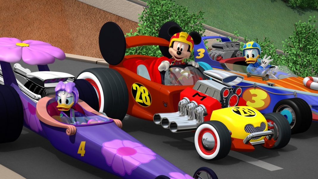 Mickey: Aventura Sobre Rodas
