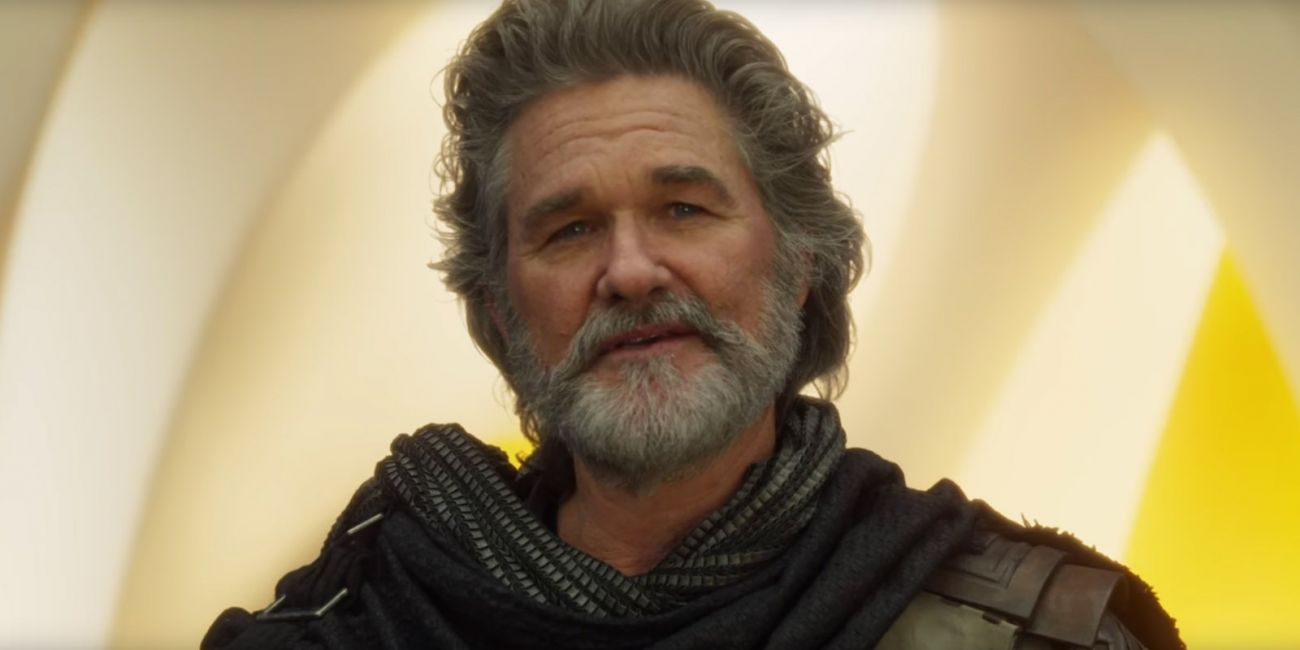 Kurt Russell como Ego em Guardiões da Galáxia vol. 2