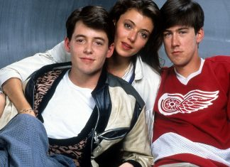 Matthew Broderick And Alan Ruck In 'Ferris Bueller's Day Off' curtindo a vida adoidado