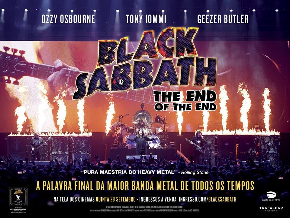 Resultado de imagem para Cinemark Exibe Último Show Do Black Sabbath