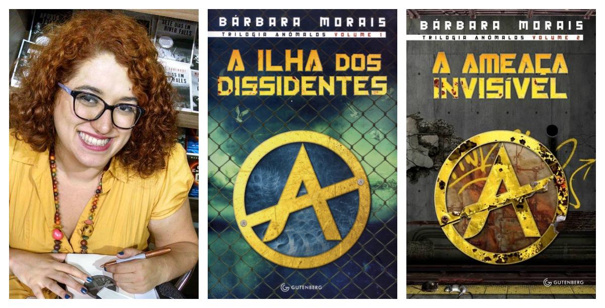 Imagem da autora Bárbara Moraes