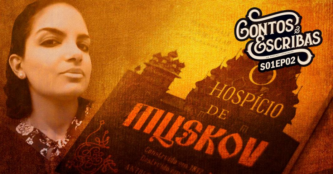 O Hospício de Muskov na capa do programa contos e escribas