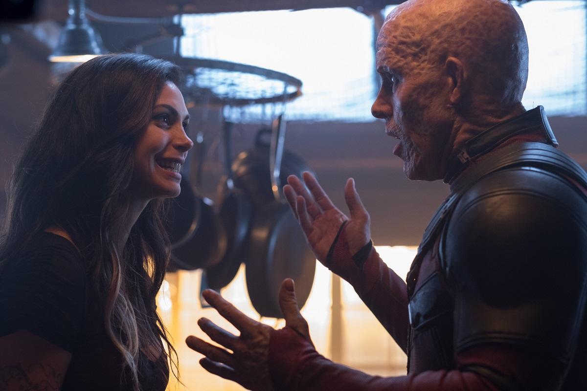 Vanessa e Wade em cena de Deadpool 2