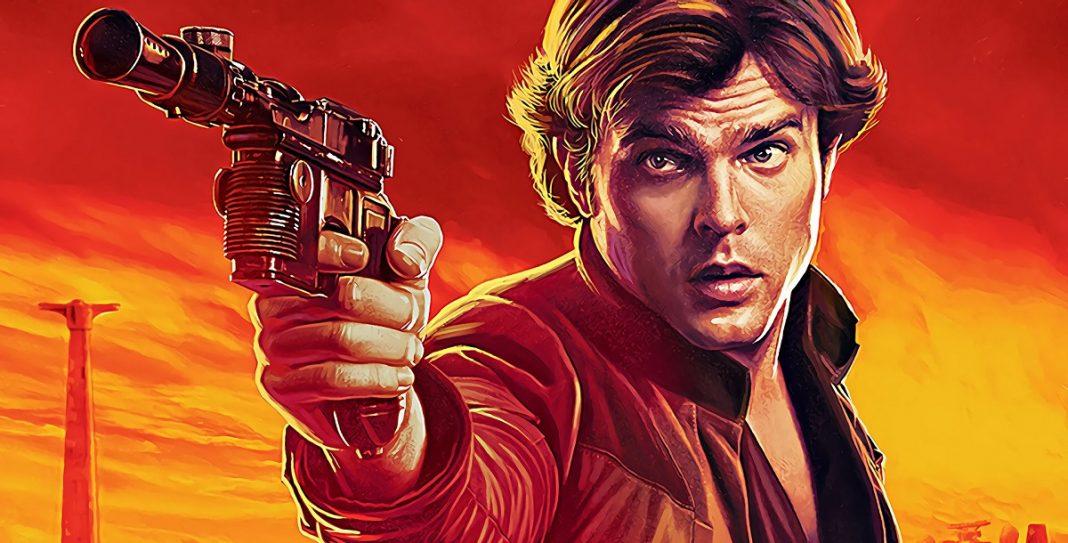 poster do filme do Han Solo