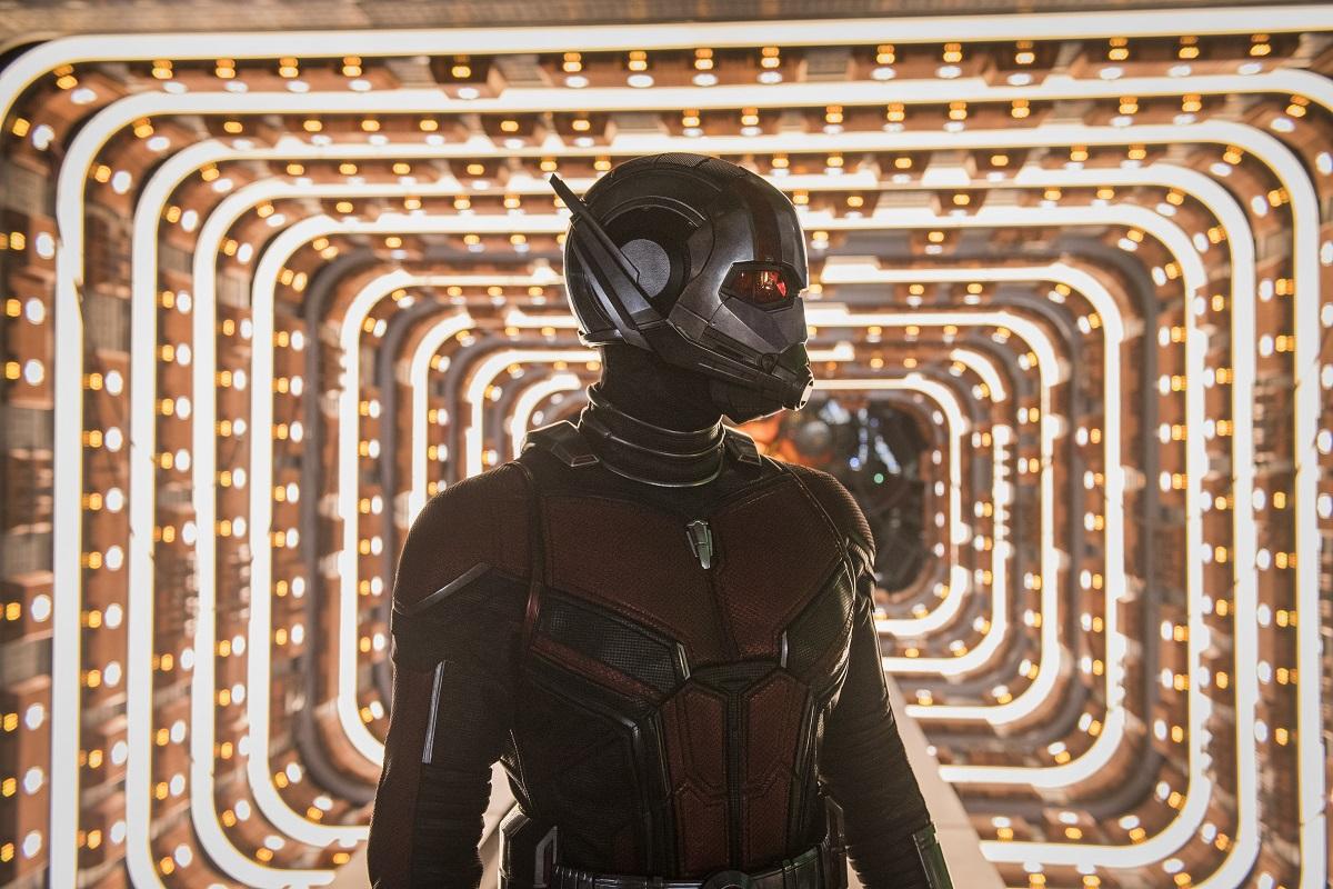 Scott Lang em cena de Homem-Formiga e a Vespa