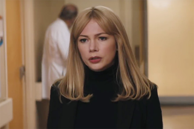Michelle Williams em cena de Venom