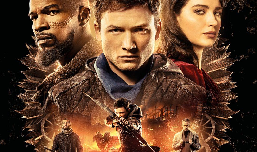 Pôster Final - Robin Hood (64x94cm) - taron egerton