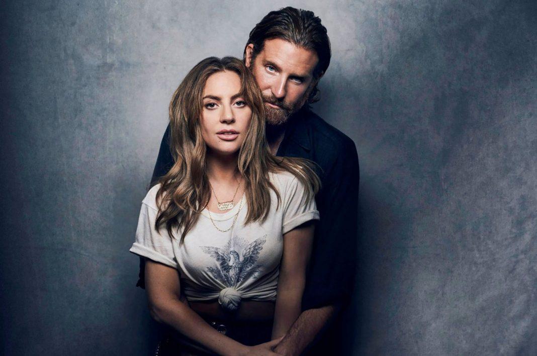 Lady Gaga e Bradley Cooper em poster de Nasce Uma Estrela
