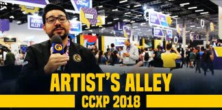 ccxp 2018 ruma de nerds artists alley