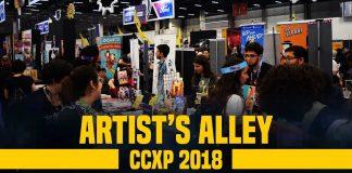 CCXP 2018 artist's alley