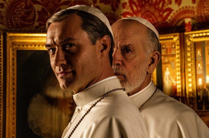 the new pope fox premium jude law john malkovich