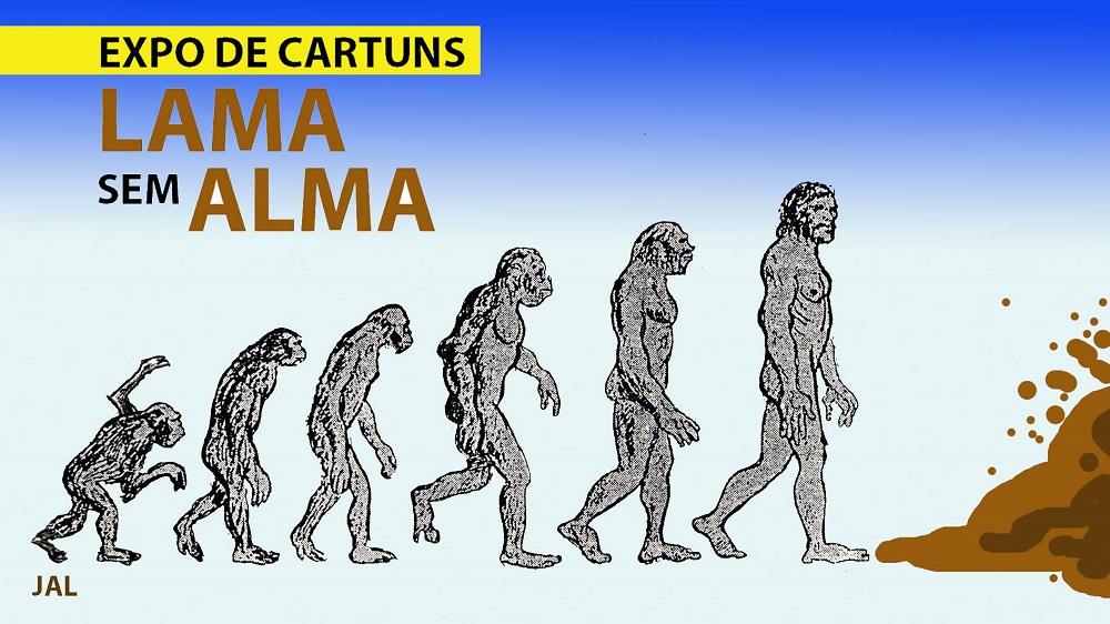 Cartaz da Exposição Lama sem Alma