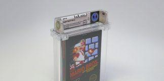 Cópia lacrada de Super Mario Bros. foi leiloada por 100 mil dólares