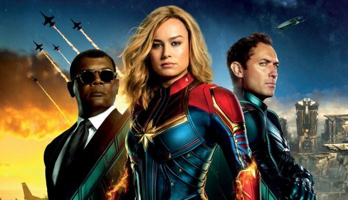 Capitã Marvel em poster