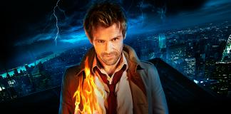Matt Ryan como John Constantine em poster da série
