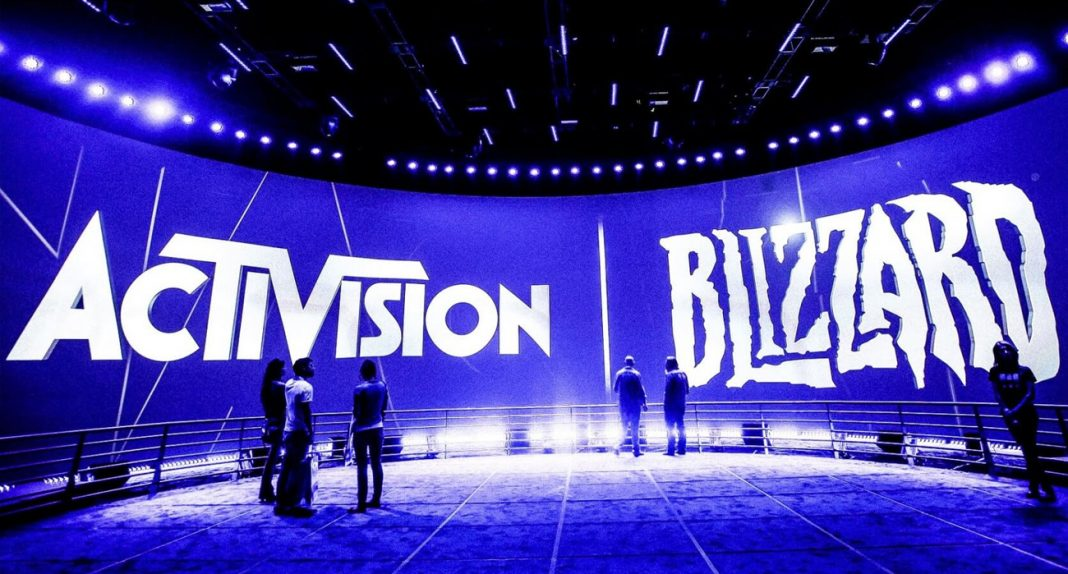 Activision Blizzard em evento
