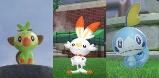 imagens de Pokémon Sword & Shield