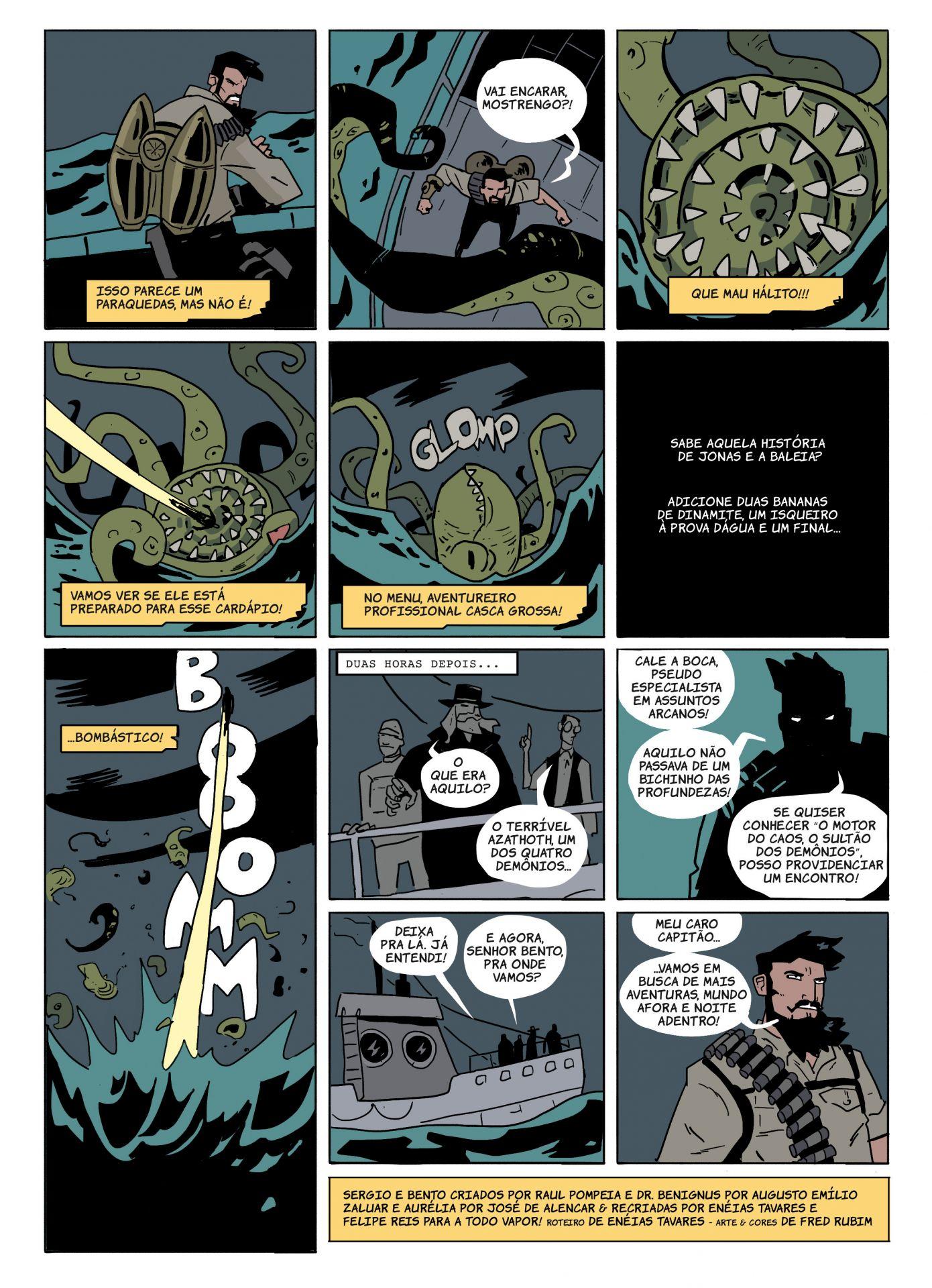 Bento - Ep 03 (A Todo Vapor - Webcomics)
