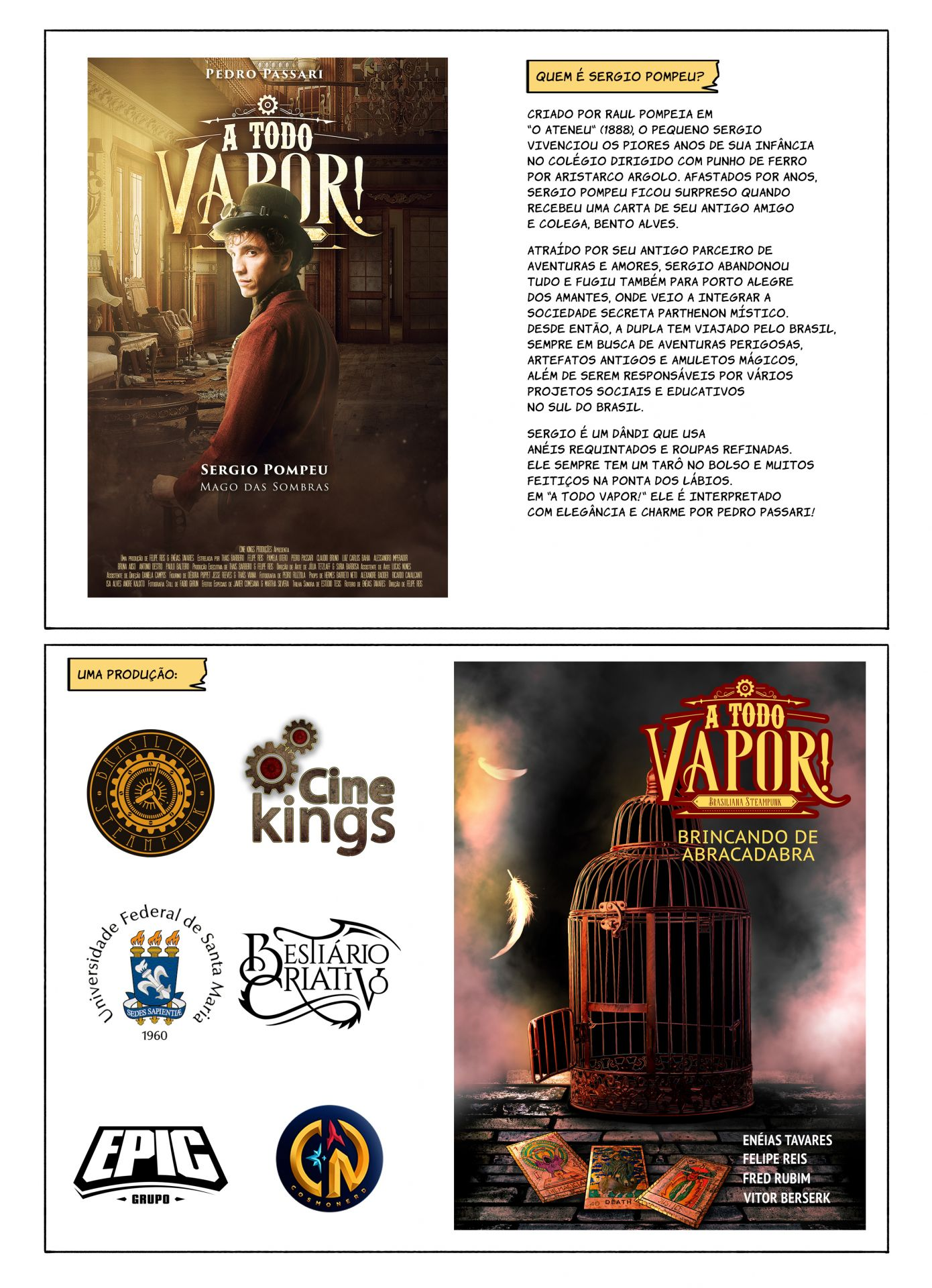 Sergio Pompeu - Extra (A Todo Vapor - Webcomics)