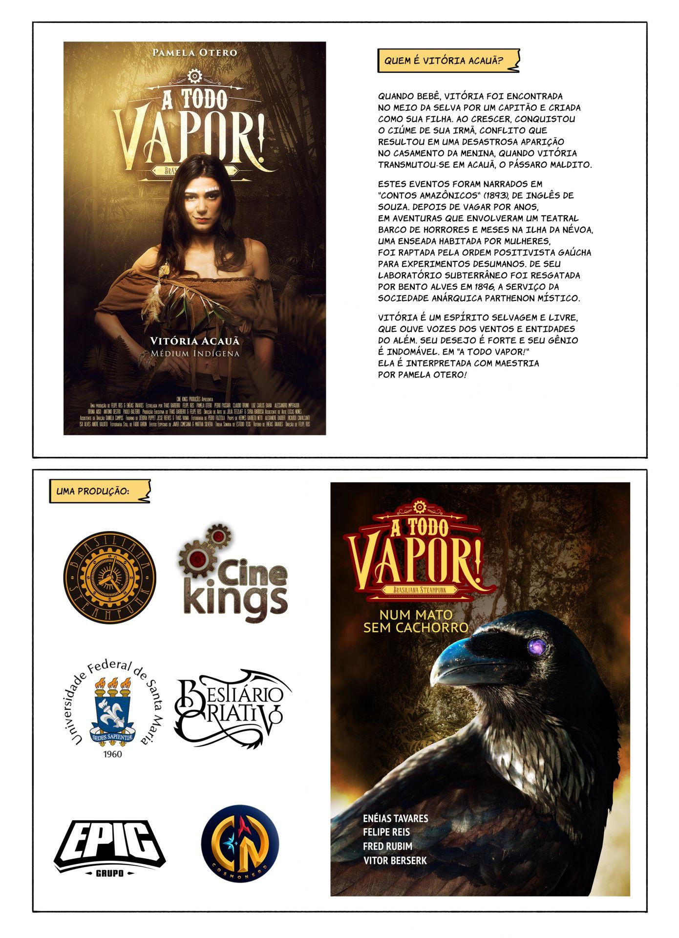 Vitória - Extras (A Todo Vapor - Webcomics)