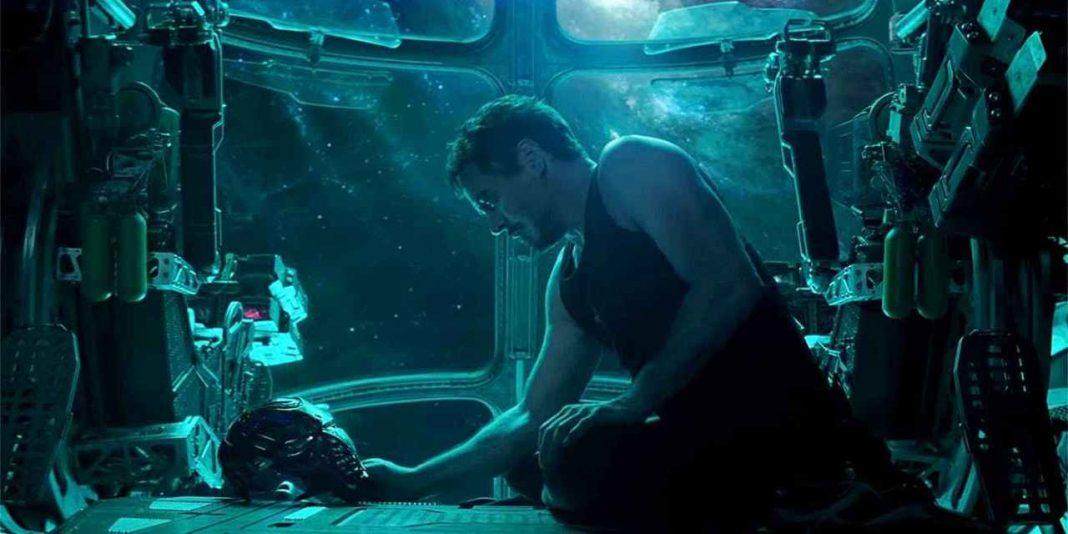tony stark no espaço em Vingadores: Ultimato Robert Downey Jr.