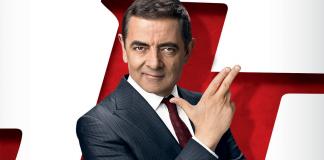 Rowan Atkinson no poster de Johnny English 3.0