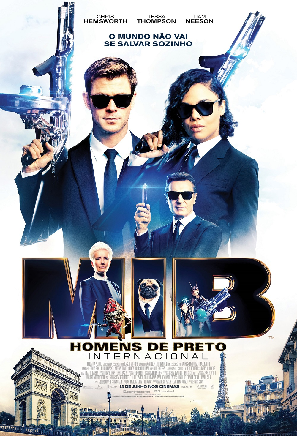 Homens de Preto MIB Internacional Sony Pictures
