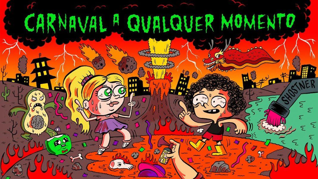 Irmão do Jorel Cartoon Network copa studio Carnaval a Qualquer Momento