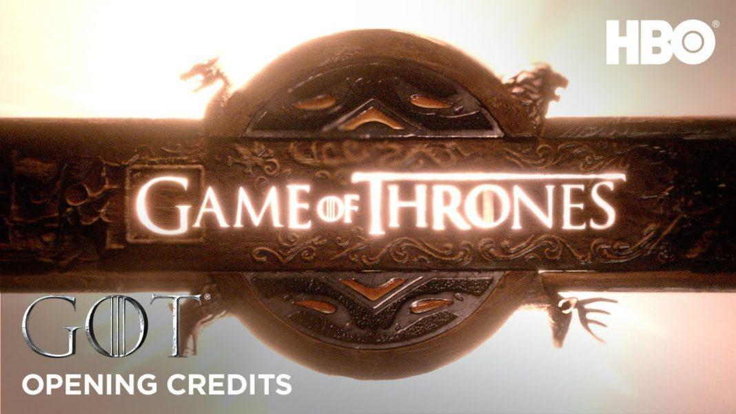 créditos iniciais game of thrones hbo 8a temporada