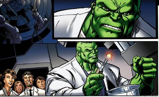 professor hulk nos quadrinhos da Marvel Comics