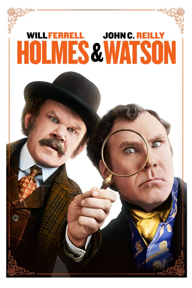 holmes & watson will ferrell john c reilly