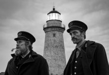 the lighthouse Robert Eggers robert pattinson willem dafoe