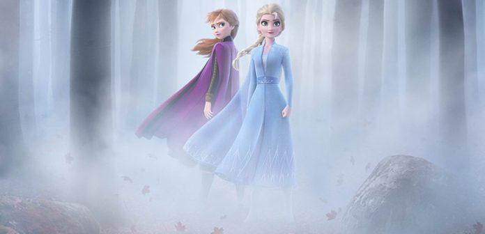 frozen II anna e elsa disney