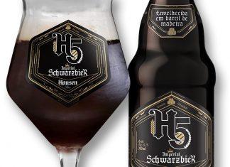 hausen h5 Imperial Schwarzbier cerveja artesanal